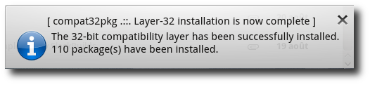 The trigger 'trigger-layer32-installed-notify'